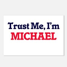 Trust Me, I'm Michael Postcards (Package of 8)