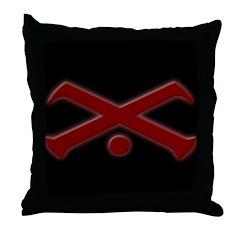 Vision Symbol Throw Pillow