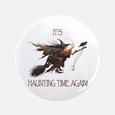 """Witch haunting time 3.5"""" Button"""