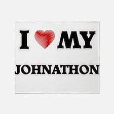 I love my Johnathon Throw Blanket