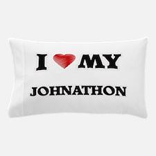 I love my Johnathon Pillow Case