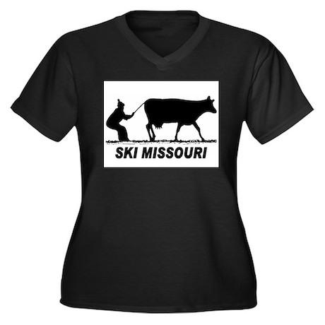 The Ski Missouri Shop Women's Plus Size V-Neck Dar