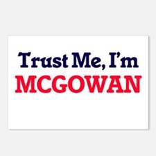 Trust Me, I'm Mcgowan Postcards (Package of 8)