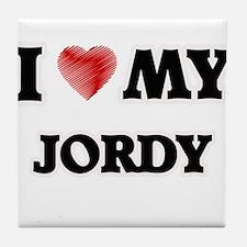 I love my Jordy Tile Coaster