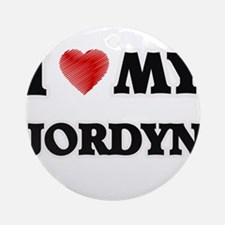 I love my Jordyn Round Ornament