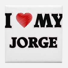 I love my Jorge Tile Coaster