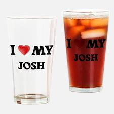 I love my Josh Drinking Glass