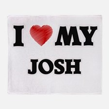 I love my Josh Throw Blanket