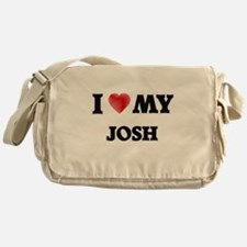 I love my Josh Messenger Bag