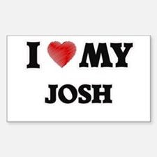 I love my Josh Decal