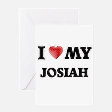 I love my Josiah Greeting Cards