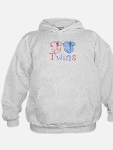 Pastel Twin Bodysuit for Twins Hoodie