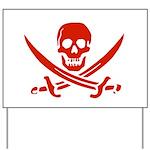Pirates Yard Sign