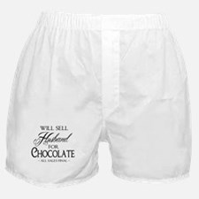Husband for Chocolate Boxer Shorts