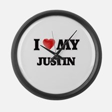 I love my Justin Large Wall Clock