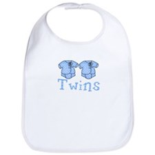 Pastel Twin Bodysuit for Twins Bib