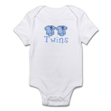 Pastel Twin Bodysuit for Twins Infant Bodysuit