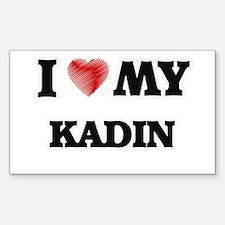 I love my Kadin Decal
