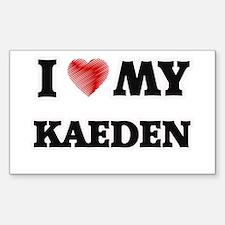 I love my Kaeden Decal