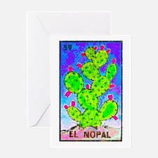 El Nopal Greeting Card