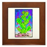 Loteria mexicana Framed Tiles