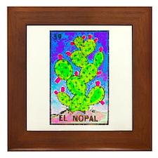 El Nopal Framed Tile