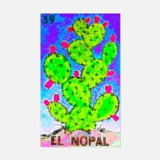 El Nopal Rectangle Decal