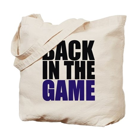 Back in the Game Tote Bag
