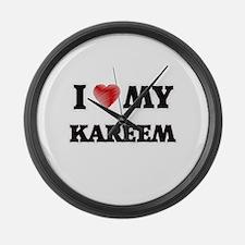 I love my Kareem Large Wall Clock