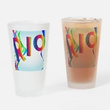 Cute Excitement Drinking Glass