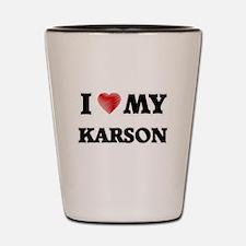 I love my Karson Shot Glass