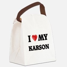 I love my Karson Canvas Lunch Bag