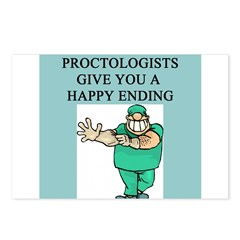 proctologist gifts t-shirts Postcards (Package of