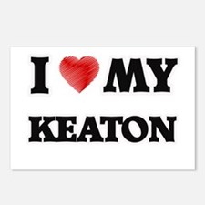 I love my Keaton Postcards (Package of 8)