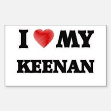 I love my Keenan Decal