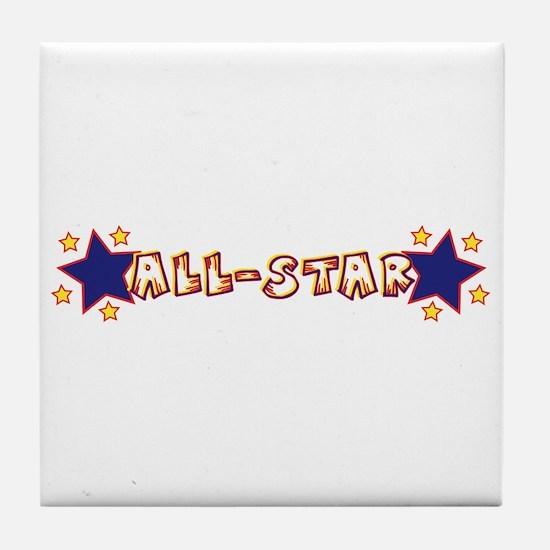 All-Star Tile Coaster