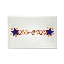 All-Star Rectangle Magnet