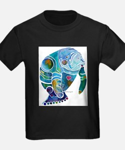 Manatees Endangered Species T-Shirt