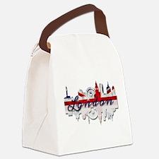 London Skyline Canvas Lunch Bag