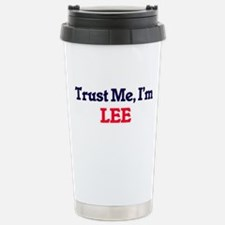 Trust Me, I'm Lee Stainless Steel Travel Mug