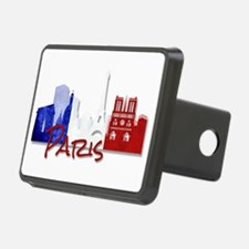 Paris France Hitch Cover