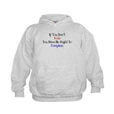 No Right To Complain Hoodie