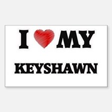I love my Keyshawn Decal