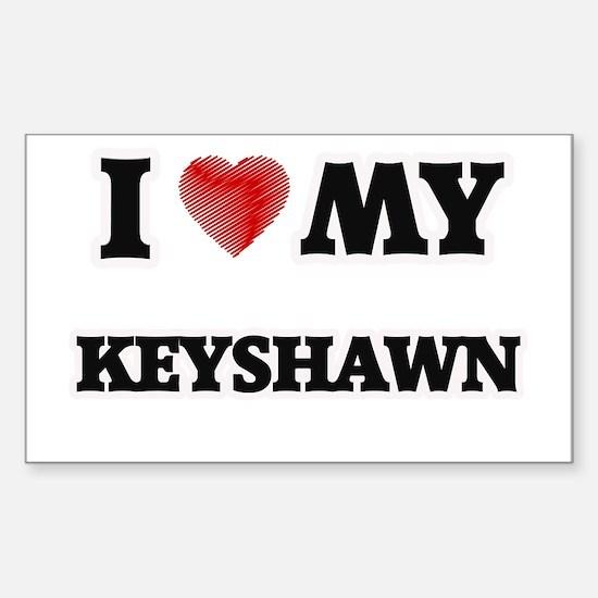 I love my Keyshawn Decal