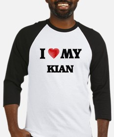 I love my Kian Baseball Jersey