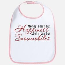 Money Can't Buy Happiness Bib