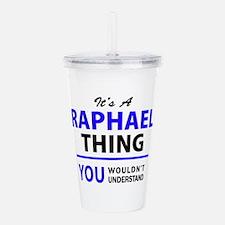It's RAPHAEL thing, yo Acrylic Double-wall Tumbler