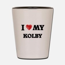 I love my Kolby Shot Glass