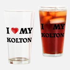 I love my Kolton Drinking Glass