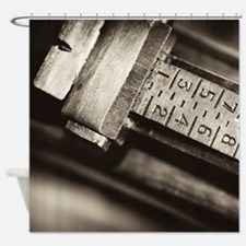 Rear Sights Shower Curtain